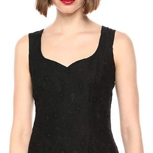 Karl Lagerfeld Sweetheart Neckline Lace Sheath